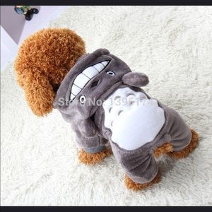 Soft Fleece Dog Hoody Coat